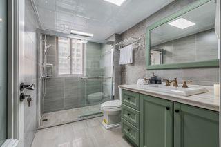 轻奢美式风格三居卫生间装修效果图