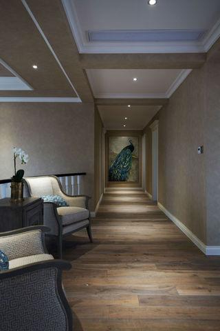 美式风格别墅走廊装修效果图