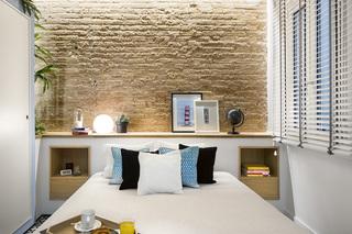 40平米小户型卧室背景墙装修效果图