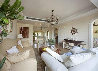 127平地中海风格客厅每日首存送20