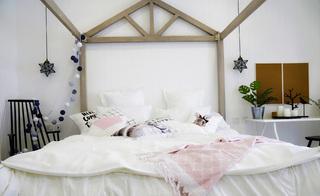 简约北欧风格卧室装修设计图
