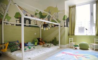 简约北欧风格儿童房装修效果图