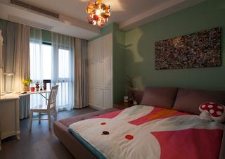 三居室混搭风格儿童房装修效果图