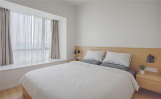 极简日式风格三居卧室装修效果图
