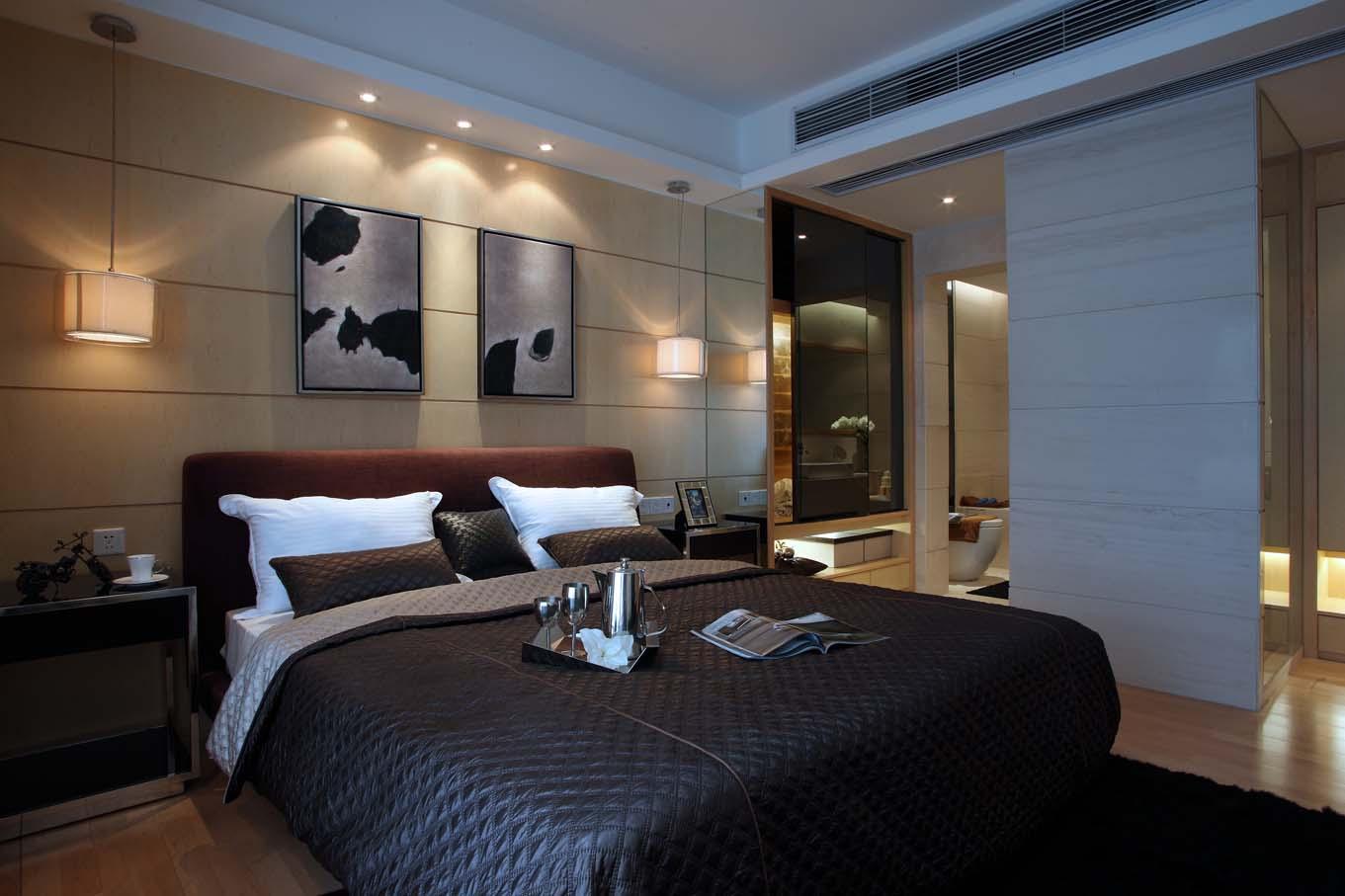 后现代风格四居卧室装修效果图