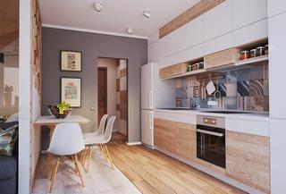 40平米小户型公寓厨房装修效果图