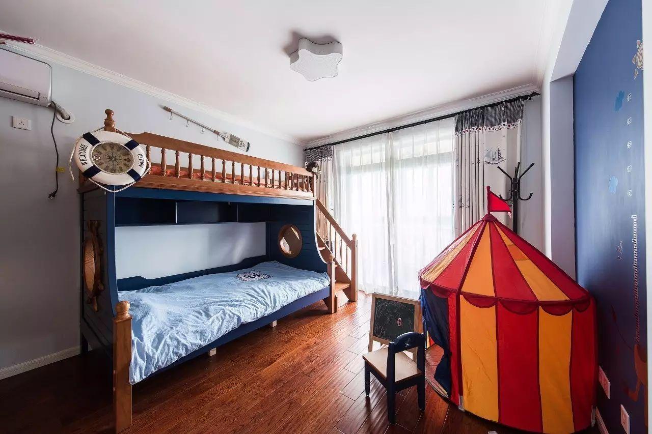 现代美式风格儿童房装修效果图