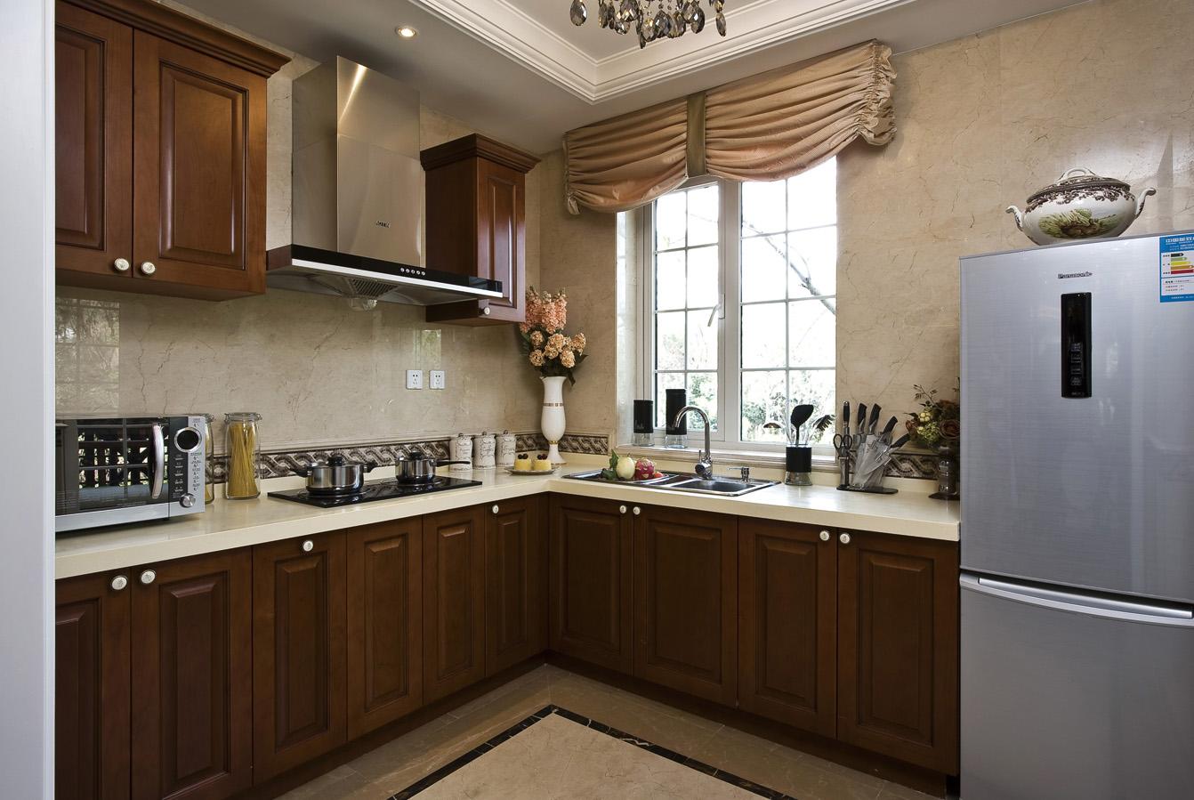 大户型奢华欧式风格厨房装修效果图