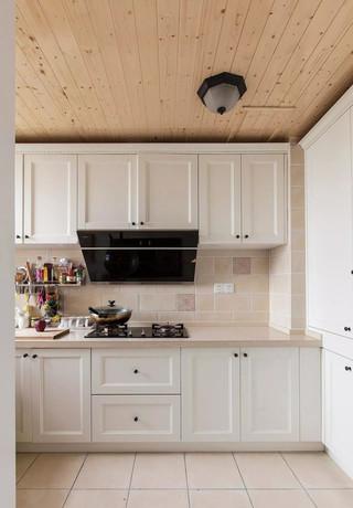 120㎡美式三居厨房装修效果图