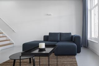极简风格LOFT公寓客厅装修效果图