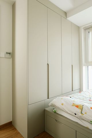 136㎡现代风装修衣柜设计图