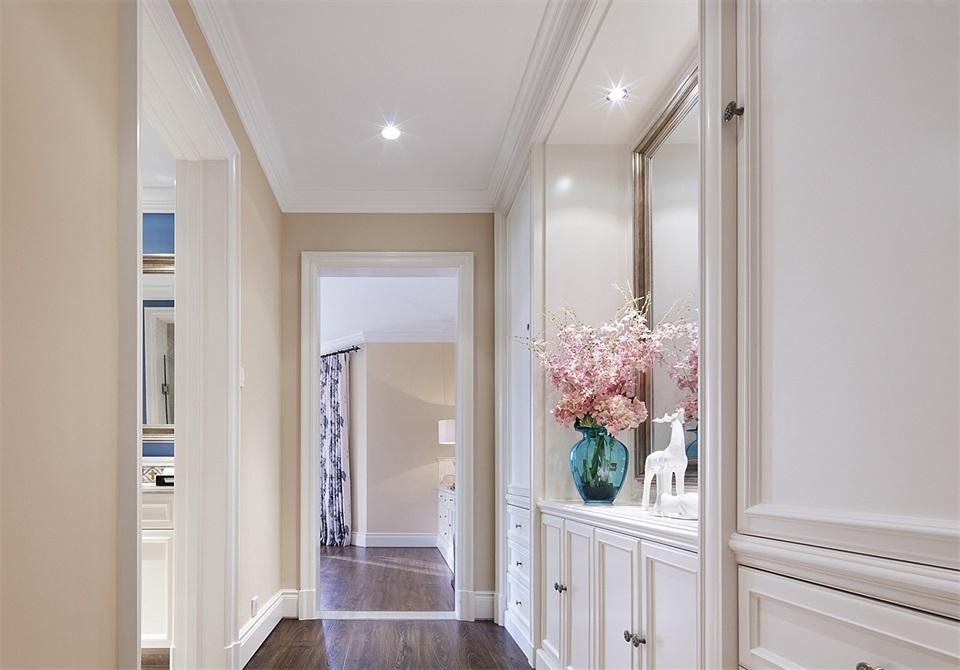 160㎡美式风格走廊装修效果图