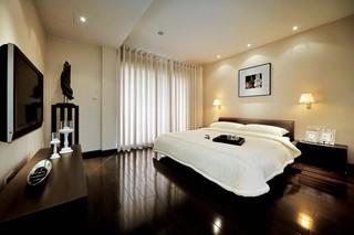 简约风格别墅卧室装修效果图