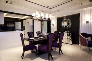 新古典风格样板间餐厅装修效果图