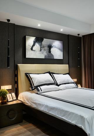145平时尚现代风卧室装修效果图