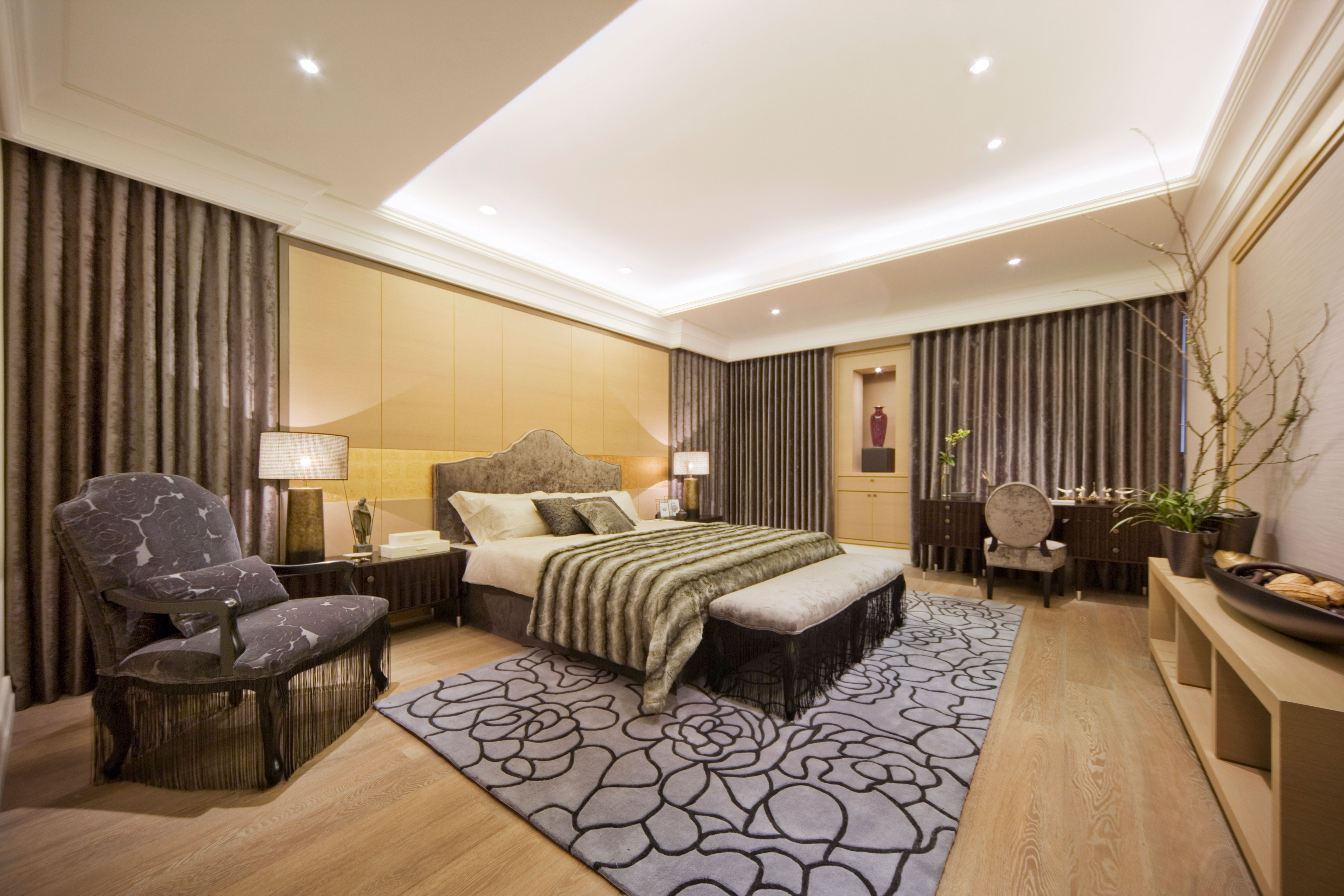 大户型简欧风格卧室装修效果图