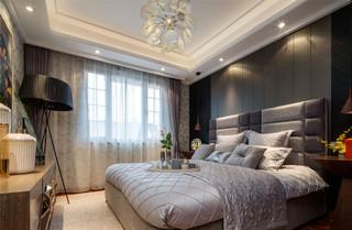 时尚现代两居卧室装修效果图