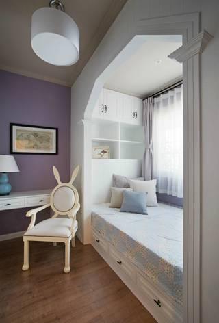美式风格三居儿童房装修效果图
