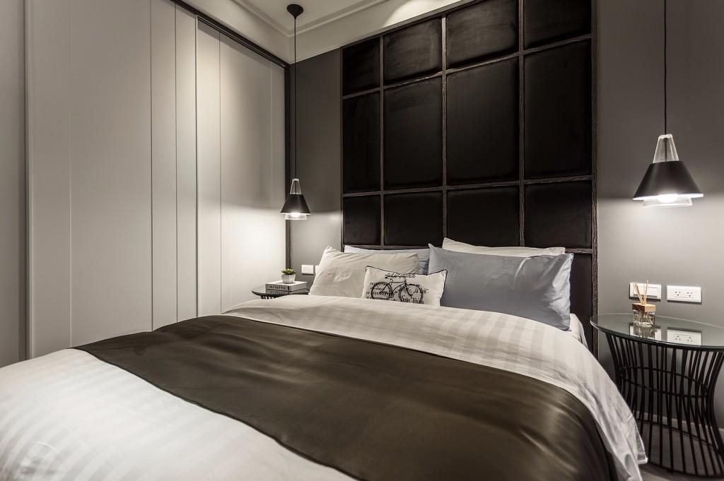 小户型现代简约卧室装修效果图