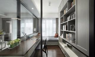 90㎡现代简约二居书房装修效果图