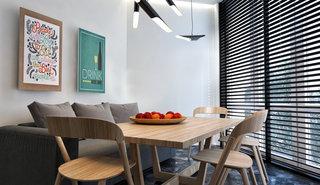 小户型简约公寓餐厅装修效果图