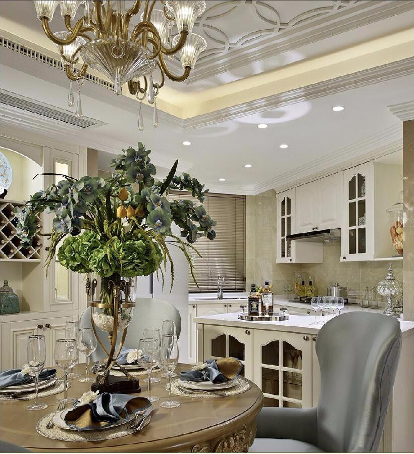 奢华欧式风格厨房装修设计效果图