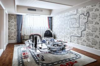 法式风格别墅娱乐室装修效果图