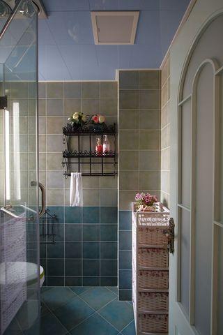 田园风格两居室卫生间装修效果图