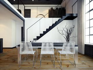 LOFT公寓餐厅装修效果图
