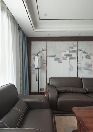 新中式三居装修设计效果图