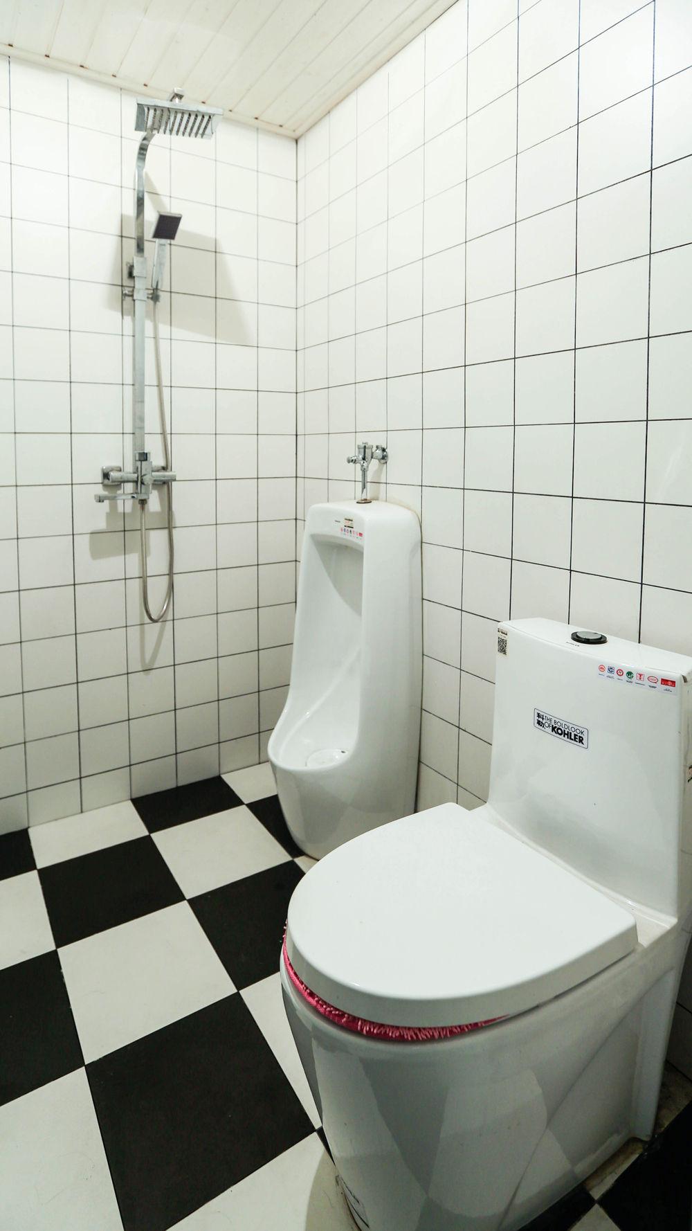小户型北欧风卫生间装修效果图