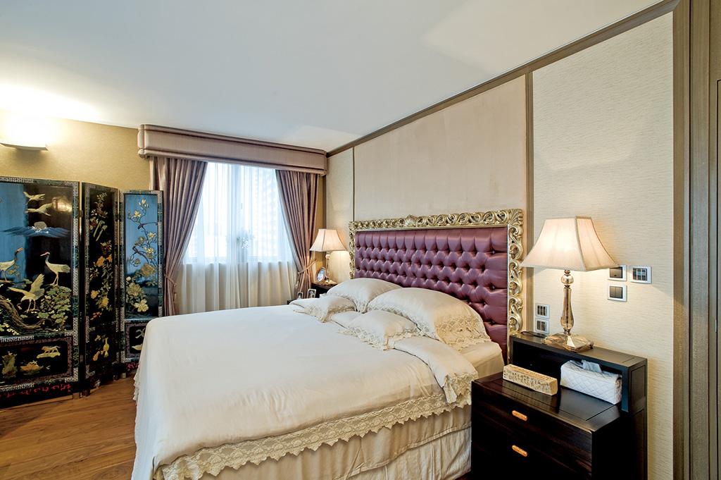 大户型中式风格卧室装修设计图