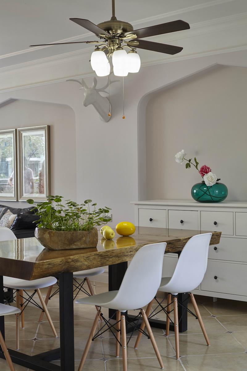 简美风格四居室餐厅装修效果图