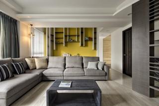 115㎡现代风格装修沙发布置图