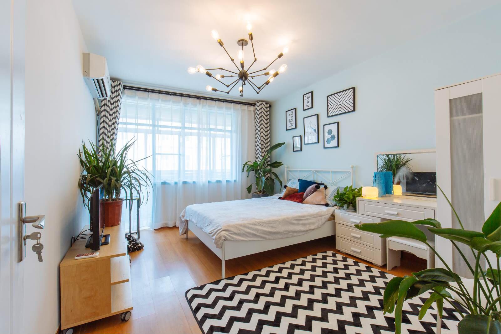 45㎡小户型卧室装修效果图