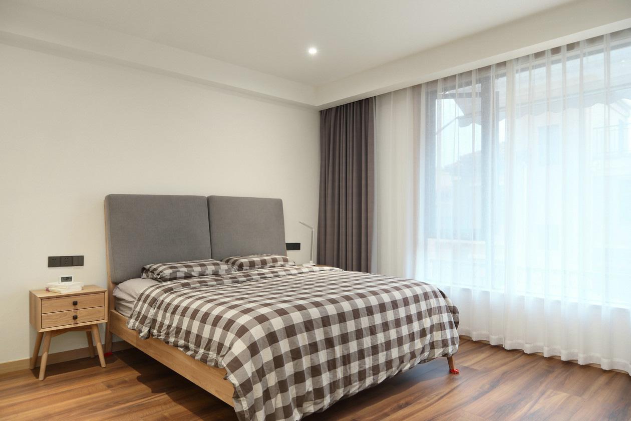 大户型复式极简风卧室装修效果图
