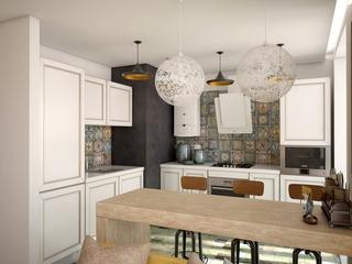 48㎡小户型公寓厨房装修效果图