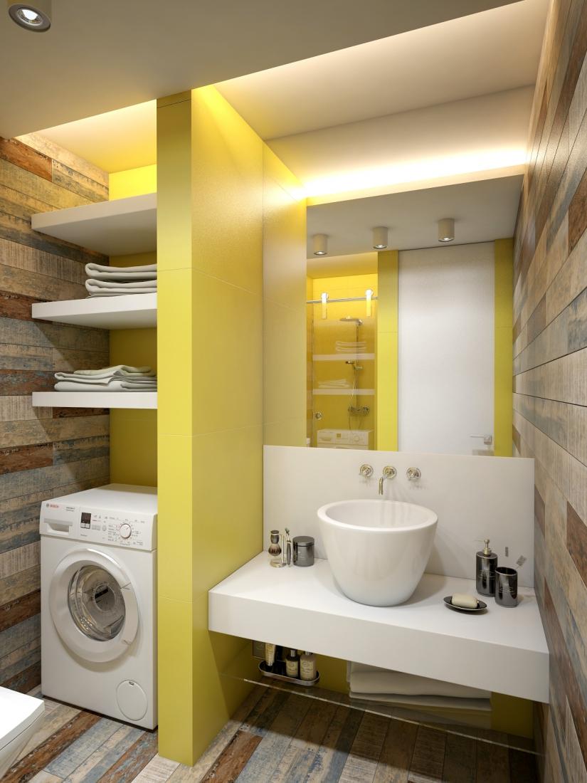 48㎡小户型公寓卫生间装修效果图