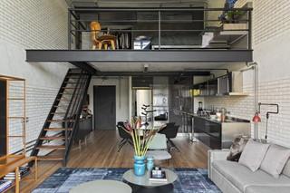 100㎡LOFT公寓装修效果图