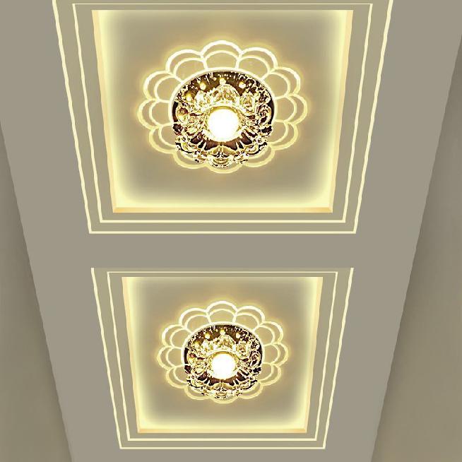 在成都装修房子,入户玄关过道灯效果图全集 值得你收藏哦-家装保姆-罗小红成都家装设计团队