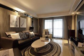 140平米现代三居装修效果图