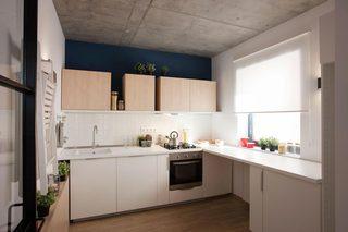 50㎡小户型公寓厨房装修效果图