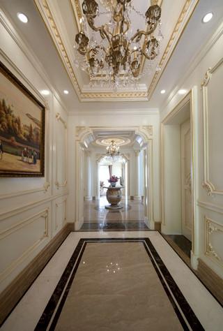 法式豪华别墅门厅装修效果图