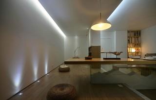 二居室简约日式风格餐厅装修效果图
