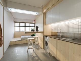 22㎡小户型公寓厨房装修效果图