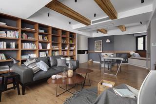125㎡北欧风格二居装修效果图