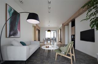 简约风格四居室客厅装修效果图