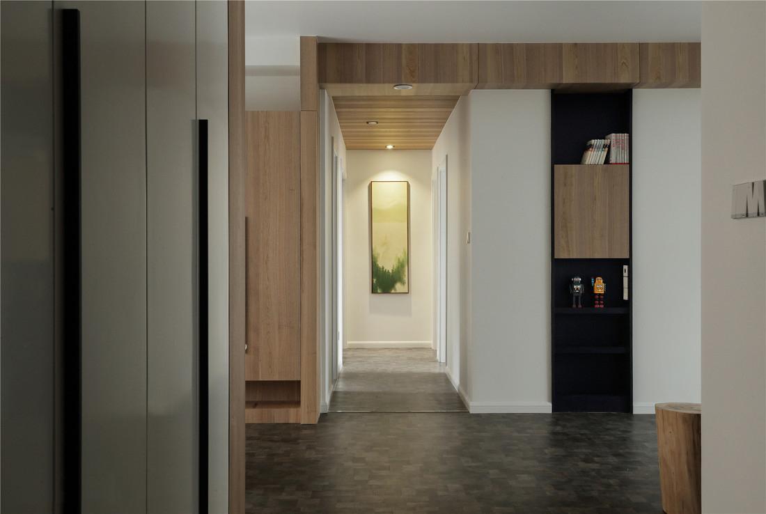 简约风格四居室过道装修效果图