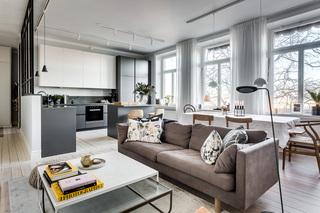 两居室北欧风公寓装修效果图