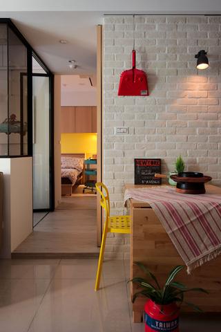 66平小户型公寓餐厅装修效果图